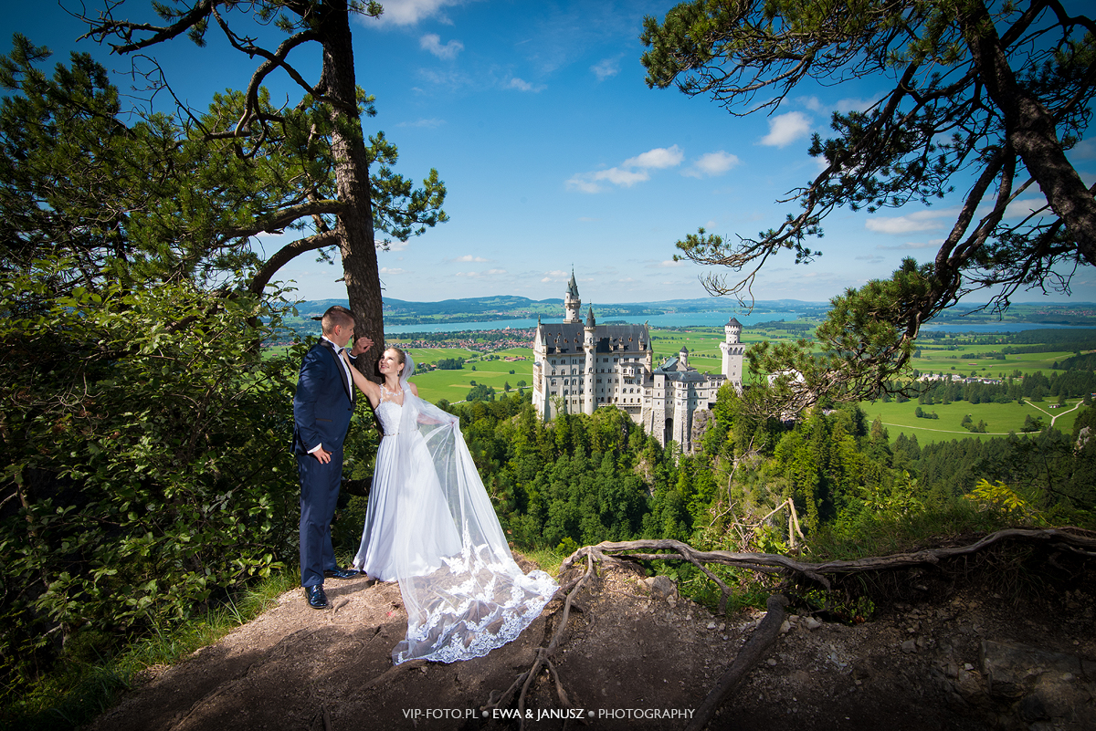 Plener ślubny na Bawarii