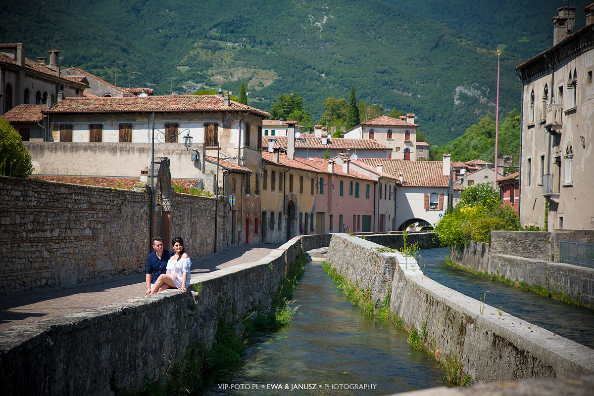 Sesja plenerowa Vittorio Veneto - Włochy
