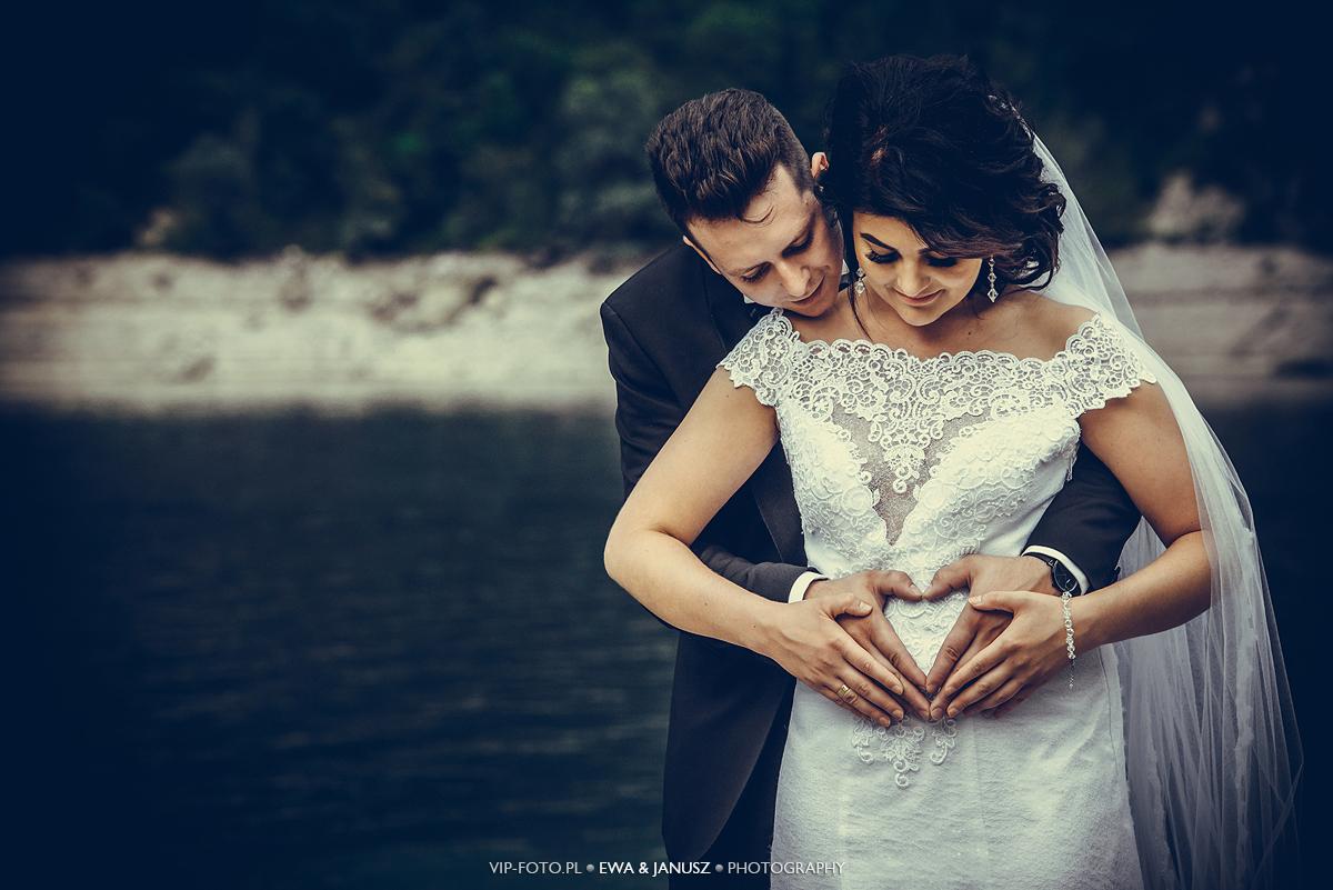 Sesja ślubna we Włoszech Lago del Mis